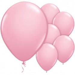 Rózsaszín latex lufi - normál méret