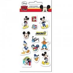Mickey egér matrica szett (pufi szivacs matricák)