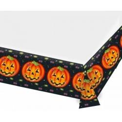 Halloween tök mintás asztalterítő