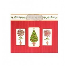Karácsonyi növények - Topiary Közepes Karácsonyi Ajándéktasak