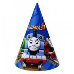 Thomas és Barátai - Thomas and Friends - Parti Kalap - 6 db-os