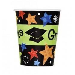 Grad Stars Parti Pohár Ballagásra - 266 ml, 8 db-os