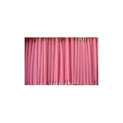 Tortagyertya Rózsaszínű, 10 db-os, Tartóval