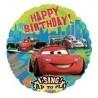 28 inch-es Verdák 2 - Cars 2 Group Birthday - Beszélő Szülinapi Fólia Lufi