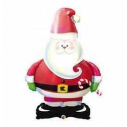 37 inch-es Mikulás - Merry Santa Fólia Lufi