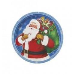 Night Before Christmas - Mikulás Parti Tányér Karácsonyra - 18 cm, 8 db-os