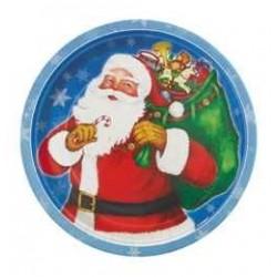 Night Before Christmas - Mikulás Parti Tányér Karácsonyra