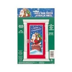 Night Before Christmas - Mikulás Ajtódekoráció Karácsonyra