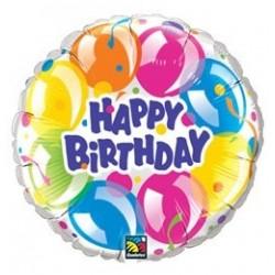 36 inch-es Szikrázó Lufik - Birthday Sparkling Balloons Szülinapi Fólia Lufi