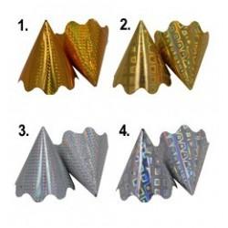 Hologramos Parti Csákó, Arany vagy Ezüst (5 db/csomag)