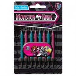 Monster High Szülinapi Gyertya, 8 db-os