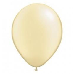 11 inch-es Pearl Ivory Kerek Lufi