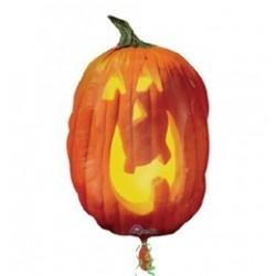 Töklámpás - Photographic Pumpkin Super Shape Halloween Fólia Lufi