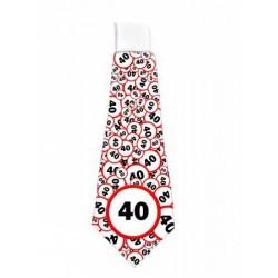 40. Szülinapi Sebességkorlátozó Nyakkendő