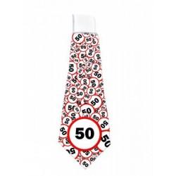50. Szülinapi Sebességkorlátozó Nyakkendő
