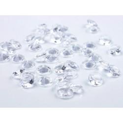 Áttetsző Gyémánt Alakú Kristály hatású Dekorkő
