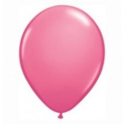 Rózsaszín Kerek Gumi Lufi - 13 cm-es
