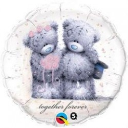 18 inch-es Macik - Tatty Teddy Together Forever Fólia Lufi
