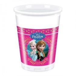 Frozen - Jégvarázs Parti Pohár - 200 ml, 8 db-os