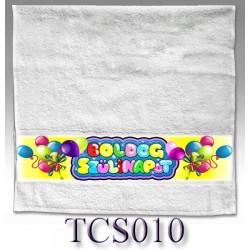 Törölköző Boldog Szülinapot lufis 50x100 TCS010