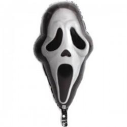 Sikoly Maszk - Ghost Face Super Shape Halloween Fólia Lufi