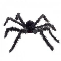 Hatalmas Szőrös Pók Világító Szemekkel