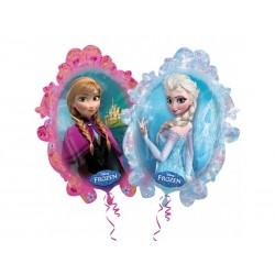 Frozen - Jégvarázs Forma Fólia Lufi