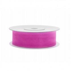 Pink Organza Szalag (19 mm x 25 m)