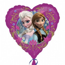 Jégvarázs - Disney Frozen - Holografikus Fólia Lufi (45 cm)