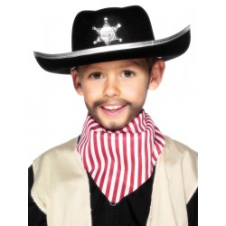 Sheriff Kalap Fekete, Ezüst Színű