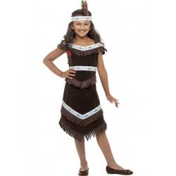 Indiánlány Jelmez S-es (4-6 év)
