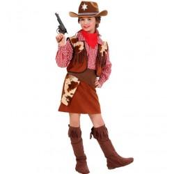 Cowgirl jelmez, vadnyugati lány jelmez