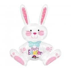 Húsvéti Nyuszi Fólia Lufi -Sitting Bunny