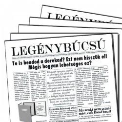 Vicces Legénybúcsús Újság