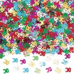 Vegyes színű 30-as Számos Konfetti - 14 gramm