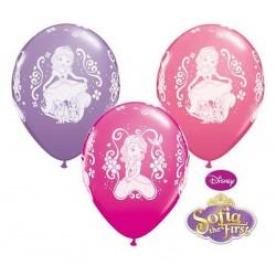 Disney Szófia hercegnő lufi 6db/ csomag