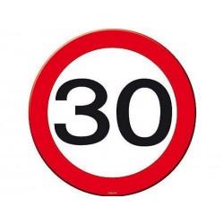 30-as Számos Sebességkorlátozó Születésnapi Party Szalvéta - 30 cm, 20 db-os