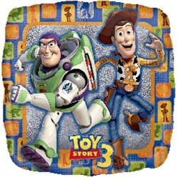 18 inch-es Toy Story 3 Holographic Héliumos Fólia Lufi