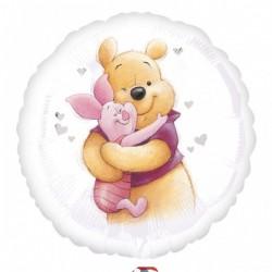 18 inch-es Pooh & Piglet - Micimackó és Malacka Fólia Lufi
