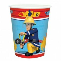 Fireman Sam Parti Pohár - 270 ml, 8 db-os