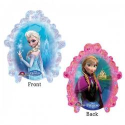 Jégvarázs - Frozen fólia lufi pálcán