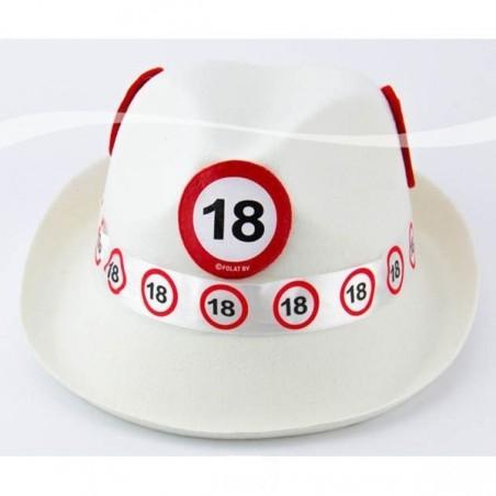 18-as Sebességkorlátozó Születésnapi Parti Kalap