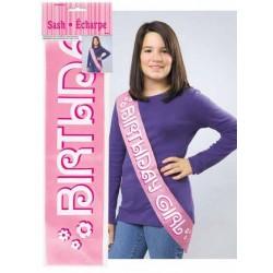 Birthday Girl Feliratú Szülinapi Vállszalag