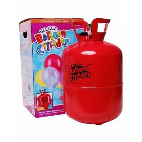Eldobható Héliumpalack 30 db Latex Léggömb Felfújásához