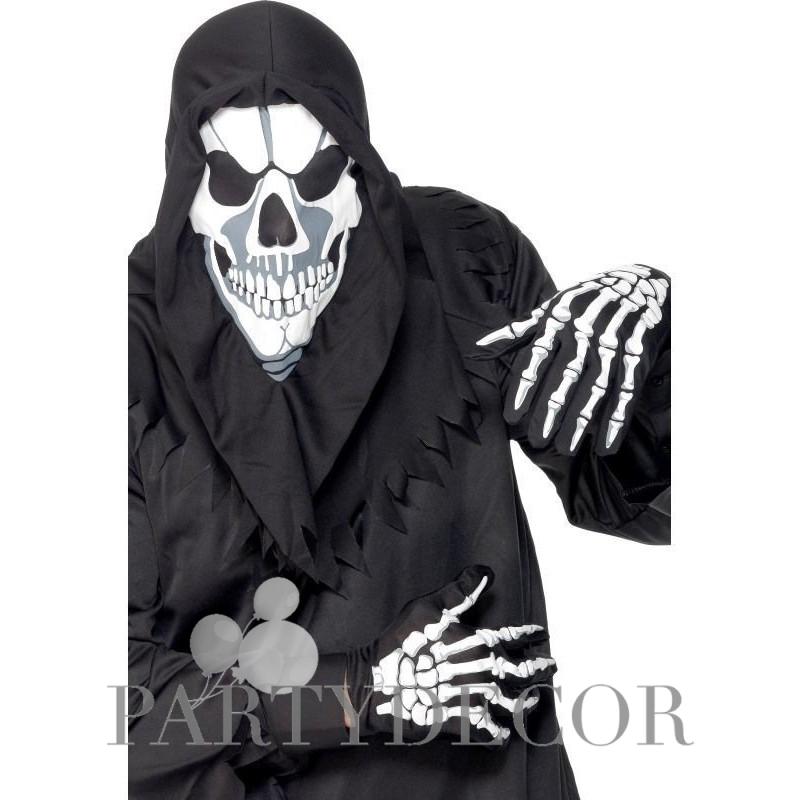 Csontváz Maszk és Kesztyű 53acf09216
