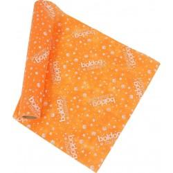 Boldog Szülinapot Feliratú Narancssárga Szülinapi Dekorációs Szalag, 12,5 cm X 1 méter