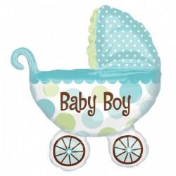 Baby Buggy Boy Super Shape Fólia Lufi Babaszületésre
