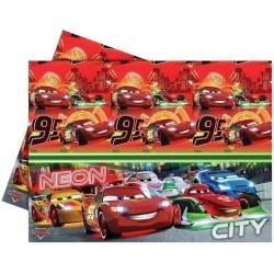 Verdák Parti Asztalterítő - Cars Neon City - 180x120 cm