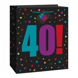 40-es Ajándéktasak Szülinapra