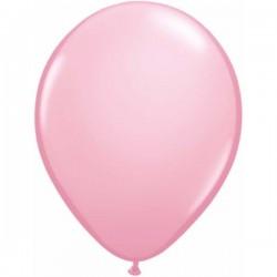 Világos Rózsaszín Kerek Gumi Lufi - 13 cm-es